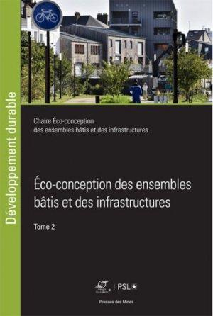 Eco-conception des ensembles bâtis et des infrastructures-presses des mines-9782356715371