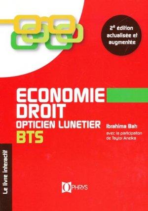 Économie-Droit BTS-ophrys-9782708013537