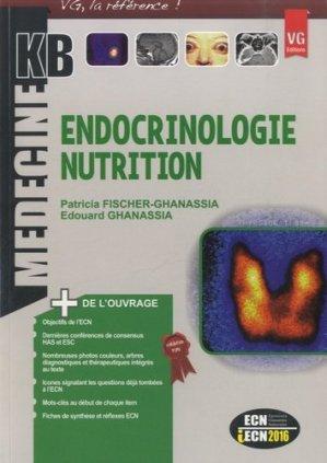 Endocrinologie nutrition - vernazobres grego - 9782818311820