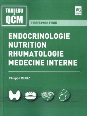 Endocrinologie, nutrition, rhumatologie, médecine interne-vernazobres grego-9782818316627