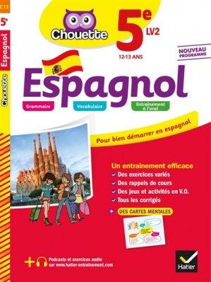 Espagnol 5e LV2-hatier-9782401051188