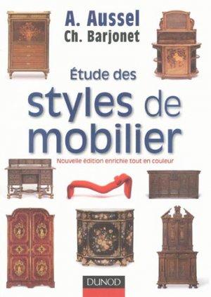 Étude des styles de mobilier-dunod-9782100522231