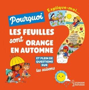 Explique moi - les saisons-Larousse-9782035958495
