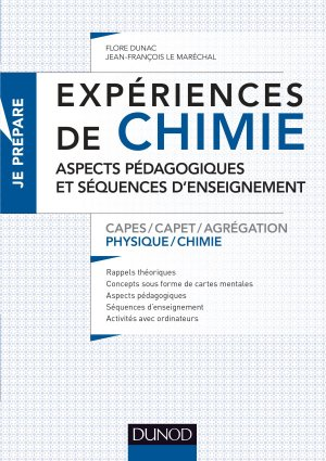 Expériences de chimie -Capes/Agrégation de sciences physiques-dunod-9782100785117