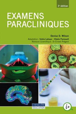 Examens paracliniques - cheneliere education (canada) - 9998201910017