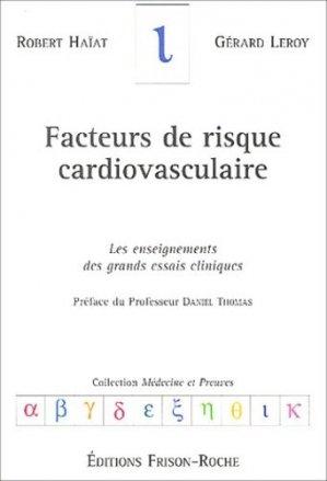 Facteurs de risque cardiovasculaire - frison roche - 2302876714301