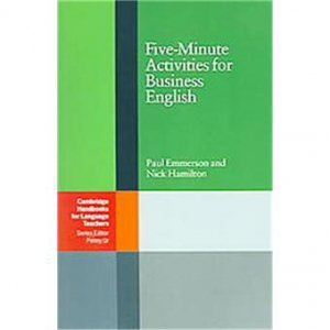 Five-Minute Activities for Business English-cambridge-9780521547413