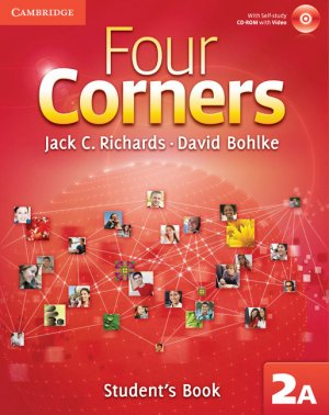Four Corners Level 2 Student's Book A with Self-study CD-ROM-cambridge-9780521127080