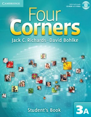 Four Corners Level 3 Student's Book A with Self-study CD-ROM and Online Workbook A Pack - cambridge - 9781107687271