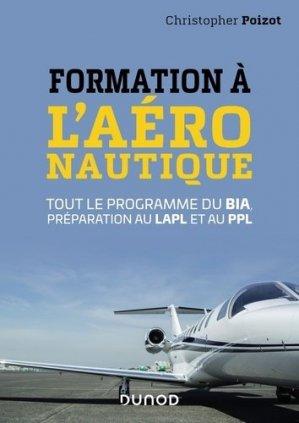 Formation à l'aéronautique-dunod-9782100794508