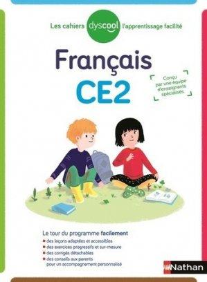 Français CE2 Les cahiers Dyscool-Nathan-9782091933665