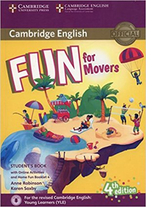 Fun for Movers - Student's Book with Online Activities with Audio and Home Fun Booklet 4-cambridge-9781316617533