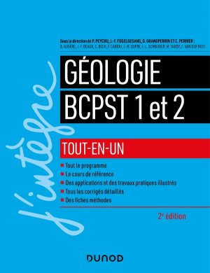 Géologie tout-en-un BCPST 1 et 2-dunod-9782100796243