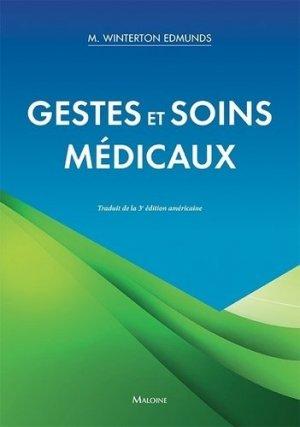 Gestes et soins médicaux-maloine-9782224035525