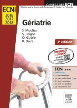 Gériatrie - elsevier / masson - 9782294742866