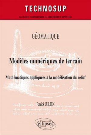 Géomatique - Modèles numériques de terrain-ellipses-9782340011786