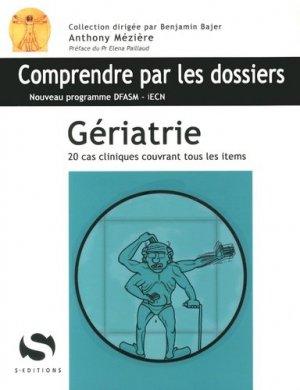 Gériatrie - s editions - 9782356401151