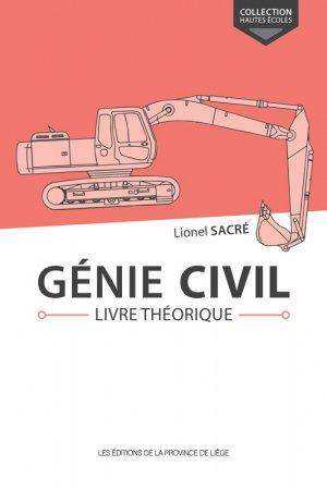 Génie civil Livre théorique-de la province de liege-9782390100904