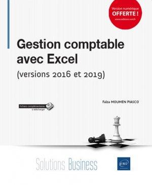 Gestion comptable avec excel - (versions 2016 et 2019)-eni-9782409018633