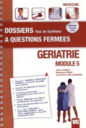 Gériatrie - Module 5 - vernazobres grego - 9782818306048