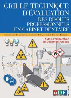 Grille technique pour l'évaluation des risques professionnels en cabinet dentaire-association dentaire francaise - adf-2224836306589