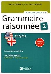 Grammaire Raisonnée Anglais - Tome 2 (3e Edition)-ophrys-9782708014275