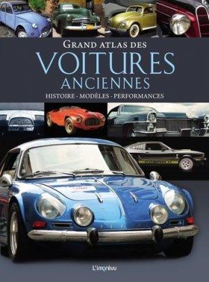 Grand atlas des voitures anciennes-de l'imprevu-9791029507298