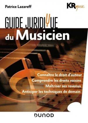 Guide juridique du musicien-dunod-9782100794461
