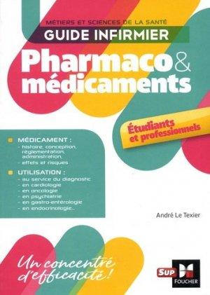 Guide infirmier pharmaco et médicaments-foucher-9782216149292