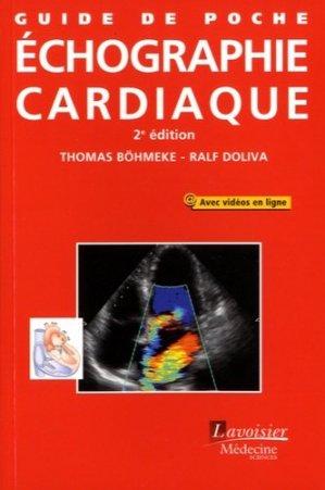 Guide de poche d'échographie cardiaque - lavoisier msp - 9782257206671