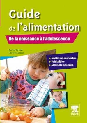 Guide de l'alimentation - elsevier / masson - 9782294714825