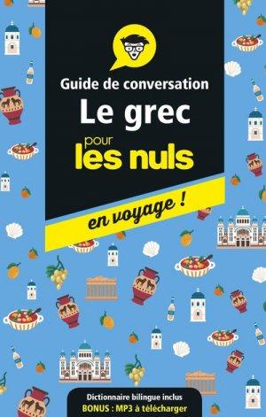 Guide de conversation grec pour les nuls - first - 9782412042588