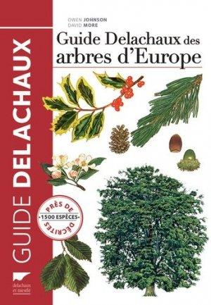 Guide Delachaux des arbres d'Europe-delachaux et niestle-9782603020814