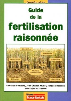 Guide de la fertilisation raisonnée - france agricole - 9782855571201