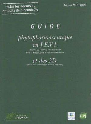 Guide phytopharmaceutique en J.E.V.I ( jardin, espaces verts, infrastructures) 2018-2019 - horticulture et paysage - 9782917465585
