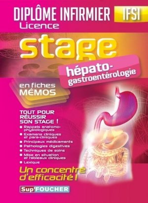 Hépato Gastroentérologie en fiches mémos - foucher - 9782216125296