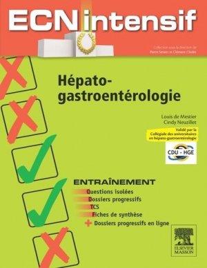 Hépato-gastro-entérologie-elsevier / masson-9782294724817