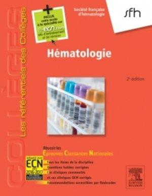 Hématologie - elsevier / masson - 9782294739507
