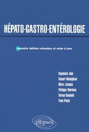 Hépato-gastro-entérologie - ellipses - 9782729804435