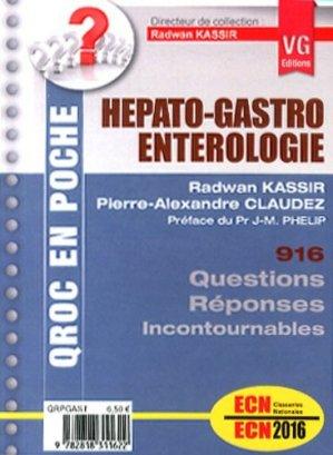 Hépato-gastroentérologie - vernazobres grego - 9782818311622