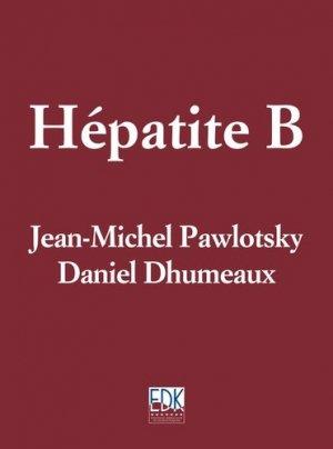 Hépatite B - edk - 9782842541316