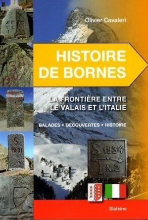 Histoire de Bornes - slatkine - 9782832109304