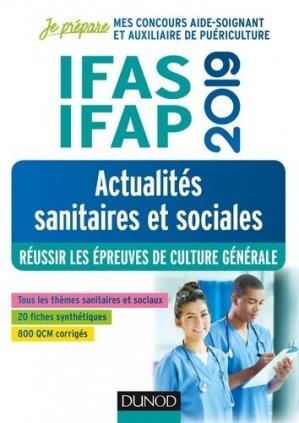 IFAS-IFAP 2019 - Actualités sanitaires et sociales-dunod-9782100789245