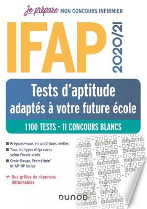 IFAP 2020-2021 Tests d'aptitude - 10 concours blancs - + de 1000 tests-dunod-9782100798377