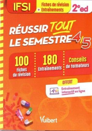 IFSI - Réussir tout le semestre 4 et 5 - estem / vuibert - 9782311661255