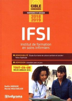IFSI - Concours 2018-2019 - studyrama - 9782759037599
