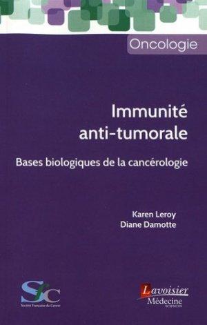 Immunité anti-tumorale-lavoisier msp-9782257207166