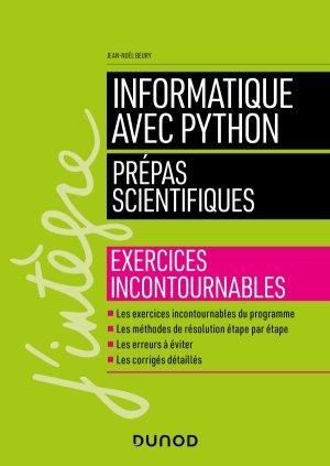 Informatique avec Python - Prépas scientifiques-dunod-9782100799046