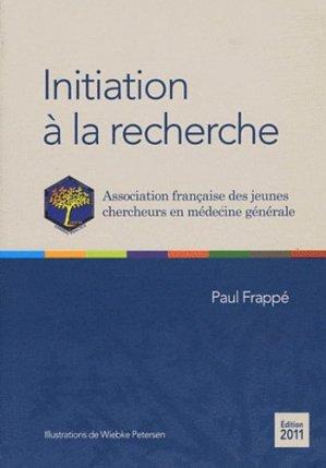 Initiation à la recherche-la revue du praticien-9782919616053