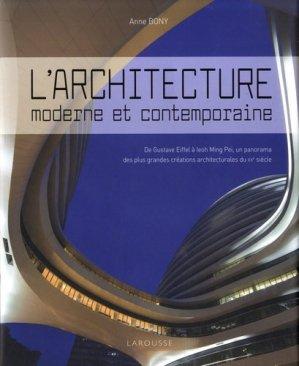 L'architecture moderne et contemporaine - larousse - 9782035963208